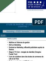 1 Introduction aux études de marché