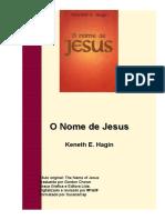 Lº O nome de Jesus
