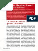 Teixidor, E. La Literatura Juvenil, Género Problematico