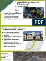 Habitabilidad sustentable 2