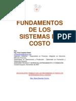 Fundamentos de Los Sistemas de Costo