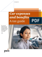 Car expenses and benefits. A tax guide.