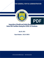 Treasury Inspector General for Tax Administration report