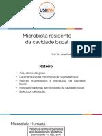 Microbiota residente da cavidade bucal