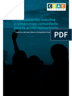 20. Comunicación colectiva y compromiso comunitario para la acción humanitaria.