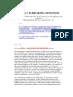 8ZXHEGEL Y EL PROBLEMA METAFISICO-1