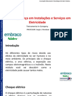 TREINAMENTO DE ATUALIZAÇÃO DE NR-10 - BÁSICO