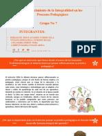 Fortalecimiento de la Integralidad en los Procesos Pedagógicos (2)
