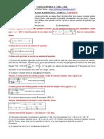 Gabarito Pedro II UERJ - 2021 Matemática Parte 3