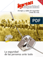 Anclajes y cables de seguridad lineas de vida IGENA