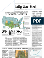 The Daily Tar Heel for March 29, 2011