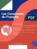 Les Consonnes Du Français.