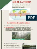 EL CLIMA DE LA TIERRA