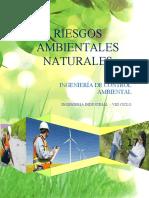 RIESGOS AMBIENTALES NATURALES 1,4 y 5