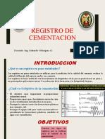 Capitulo 10 Registro de Cementacion