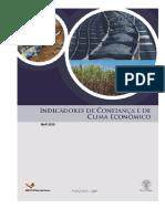 Indicadores de Confianca e de Clima Economico -Abril-2020
