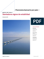 2021 07 28 America Latina Panorama Bancario Por Pais Julio de 2021