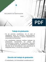 REGLAMENTO DE INVESTIGACION 2020