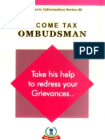 Income tax ombudsman
