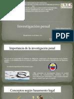Investigación Penal Alirio C
