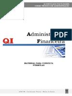 Consulta Fórmúlas - Administração Financeira