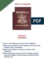 ARTICLE IV-CITIZENSHIP