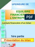 2-Lecture financière d'un bilan