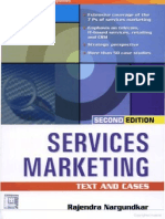 Services Marketing (Text & Cases) by Rajendra Nargundkar