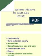 CSISA Overview Bangladesh_Noel