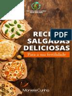 Receitas Salgadas - Moniele Cunha