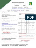 GUIA PEDAGOGICA ^N 2 DE MATEMATICAS GRADO 9 2021