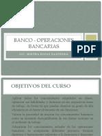 Moneda y Banca - Operaciones Bancarias 2021
