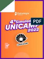 Prova 4o Simulado UNICAMP 2022