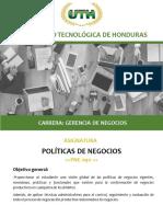 Modulo VIII Politicas de Negocios (1)