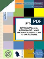 Autodespacho-Ley