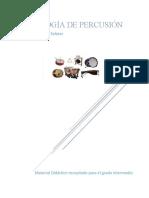Antología de percusion nivel intermedio completa