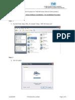 Readme - Driver Installation Procedure