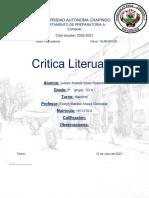 Critica Literaria Juárez Arreola Itzael Rolando 2 23 %22A%22