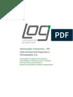 Demonstrativos Financeiros Do Resultado Da Log CP Do 2t21