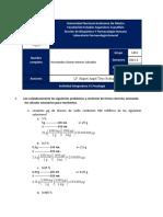 Actividad integradora-Posología