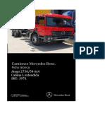 Ficha Técnica Atego 2730-54 cab L 6x4 v3