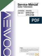 DAEWOO  CM-101S  DTH-21S7,DTH-21S8