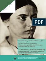 """Edith Stein y su """"crítica"""" al Idealismo Trascendental de Edmund Husserl"""