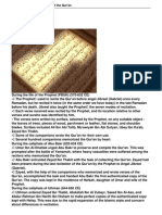 Brief History of Compilation of the Quran.