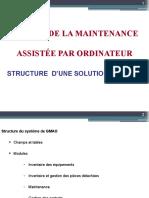 Structure de la GMAO