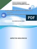 SA227 2021-I S2 Tema 2 Aspectos geológicos e hidrogeológicos