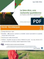 Le Bien-etre Une Recherche Quotidienne - Rapport Detude 02092015