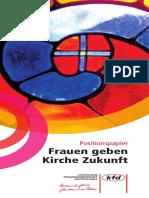 kfd_Positionspapier_Frauen_Kirche_Zukunft