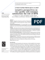 Alternative perspectives on