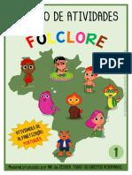 Caderno Folclore PORTUGUÊS